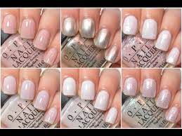 opi wedding colors opi soft shades 2015 swatch and review
