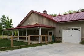metal building home w awesome wrap around porch hq plans u0026 8