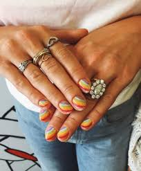 rainbow candy nails 12 unique trending nail art designs for 2017