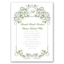 green wedding invitations green wedding invitations invitations by