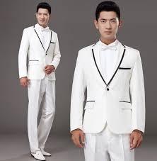 black grey white khaki married formal dress mens suits wedding