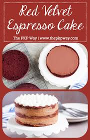 red velvet espresso cake the pkp way