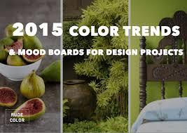 rudecolor 2015 color trends mood boards for designers