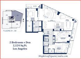 2 bedroom condo floor plans maple leaf square condos