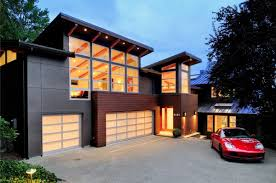 modern houses seattle garage modern house design cozy corner