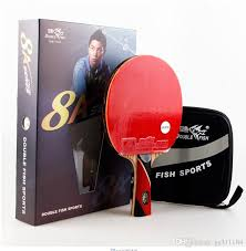 Table Tennis Racket 2017 Double Fish 8a C 7a C Table Tennis Rackets 8 Stars