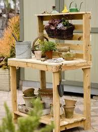diy pallet work table make your own potting bench pallets bench and pallet potting bench