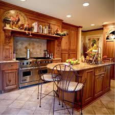 Antique Kitchens Ideas Impressive White Painted Cabinet Ceramic Gloss Tile Floor White