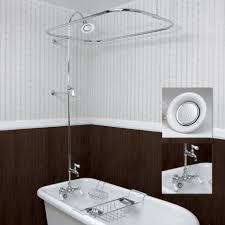 Bathtub Shower Ideas Clawfoot Tub Shower Decor Ideas U2014 The Homy Design