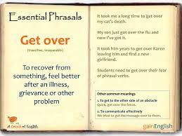 phrasal verb u2013 get over