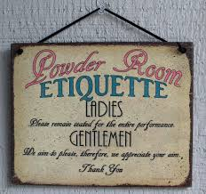 bathroom sign ebay