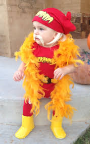 Infant Halloween Costumes Pumpkin Hulk Hogan Baby Costume Omg Baby Hogan Damn Cute