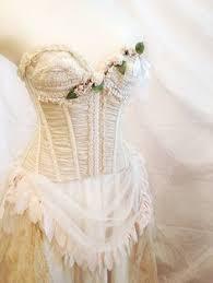 shabby chic wedding dress bella ball gown vintage by alorasafari
