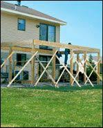 Free Online Deck Design Home Depot How To Build A Single Level Raised Deck At The Home Depot