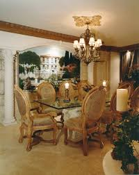 marble column dining room andrea sherman design