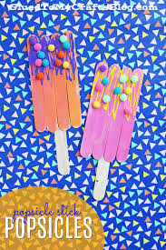 pipe cleaner popsicles kid craft popsicles craft and summer