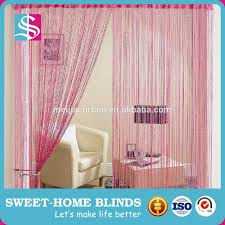 home goods 100 polyester fabric string curtain vertical blinds