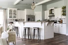 floor and decor cabinets springtime home tour kitchen and nook cotton stem