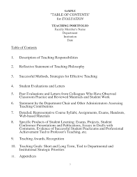 the teaching portfolio for improvement and assessment of teaching per u2026