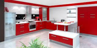 Cuisine Petit Espace by Indogate Com Decoration Cuisine Rouge Et Gris