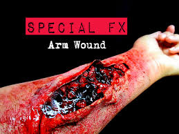 arm wound tutorial with u0027special fx u0027 youtube