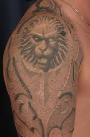 birdoyise lion tattoo design