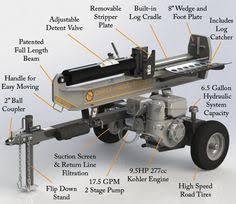 black friday log splitter steele products 5 ton electric horizontal log splitter http www