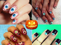 halloween nails three easy designs youtube nail art easy