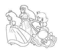 luigi daisy coloring pages coloring
