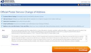 united states postal service usps change of address how to