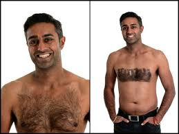 Hairy Men Meme - a stylist turns men s hairy chests into chest hair art