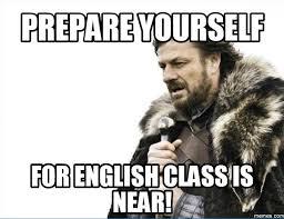 Memes About English Class - home memes com