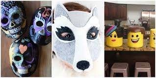 15 diy halloween mask crafts how to make halloween masks