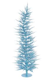 sky blue laser tinsel tree tree market