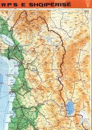 Map Of Albania Albania Travelogue