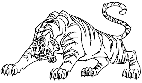 coloring pages of tigers baby tiger coloring pages free coloring pages for kidsfree