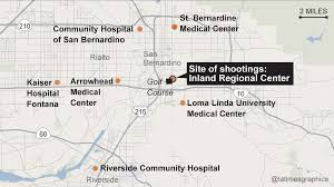 Map Of Shootings In Chicago by Shooting In San Bernardino What Happened Where La Times