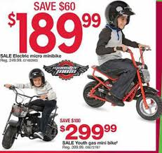 Dealigg Barnes And Noble Black Friday Deal Monster Moto Mme 250 250w Electric Mini Bike Red