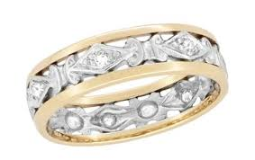 Diamond Wedding Rings For Women by Filigree Wedding Bands Filigree Wedding Rings For Women