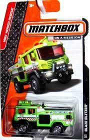 matchbox cars hsb toys matchbox cars toys mbx blaze blitzer fire truck 2014 mbx