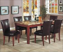 kitchen bar height dining table round table and chairs black