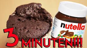schnelle küche rezepte nutella kuchen rezept in nur 3 minuten nuss nougat creme torte