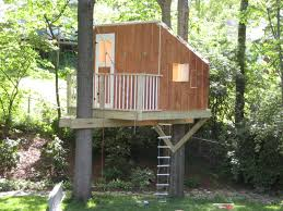 simple tree house plans for kids tree fort ladder gate roof finale