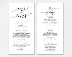 print your own wedding programs purchase this listing to instantly edit and print your