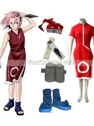 Halloween Costumes Naruto Naruto Sakura Haruno Women U0027s Cosplay Costume Accessories