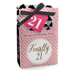 Birthday Favor Boxes by 21st Birthday Favor Boxes Custom Finally 21