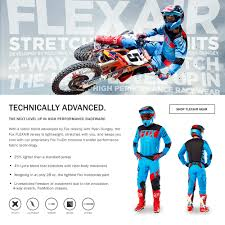 fox motocross boots size chart motocross gear u0026 clothing fox racing mx