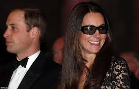 kate middleton and prince william wear 3d glasses for premiere of
