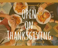 quartermaster on prefer to eat out on thanksgiving we
