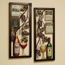 Kitchen Wall Decorations Ideas by Wine Themed Kitchen Accessories Kitchen Design